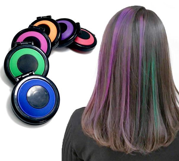 haarkreide haartonung haarpuder haarpulver hair chalk haarfarbe haar kreide